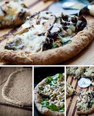 Shiitake_Flatbread_Pizza