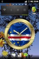 Screenshot of Cape Verde flag clocks