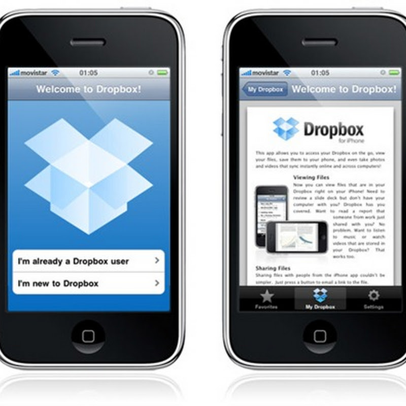 Dropbox para iPhone y iPod Touch