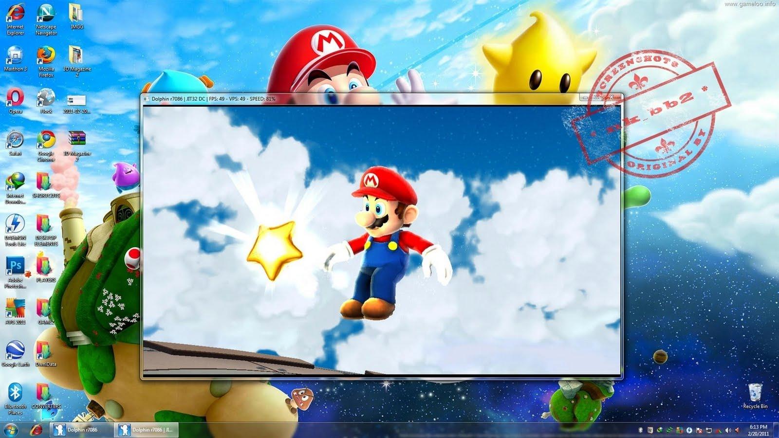 Super Mario Galaxy 2 (PC)–Dolphin Emulator 32 bit & 64 bit