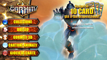 Screenshot of Gormiti Digital Card