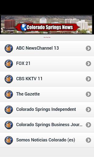 Colorado Springs News