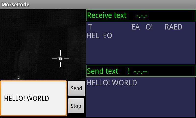 morse code transceiver