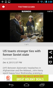 The Times Leader- screenshot thumbnail