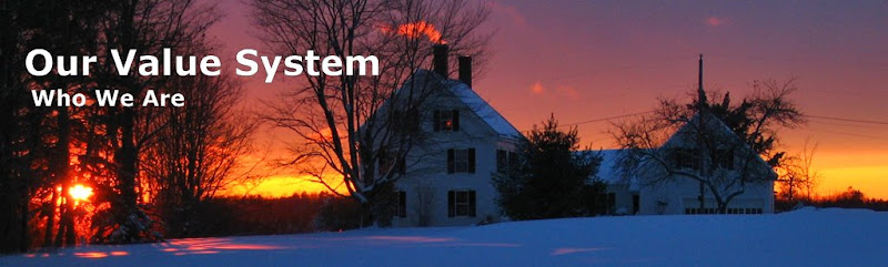 New England Winter Sunset - Our Value System Banner - Credit Rob Ish
