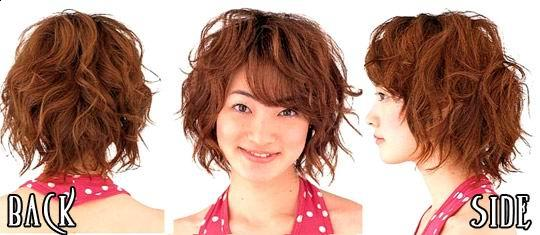 Short Hairstyles And Short Haircuts: Trendy Short Japanese
