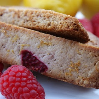 Raspberry- Lemonade Biscotti