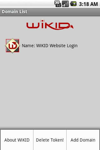 WiKID Enterprise Android Token - screenshot