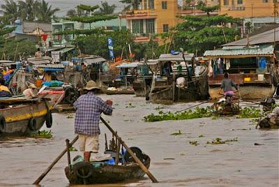 Cai Rang Floating Marketplace