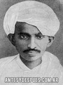 Mahatma Gandhi, 1915