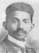 Mahatma Gandhi, 1902