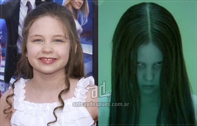 Daveigh Chase behind the mask
