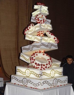 outrageous wedding cakes part 2 squirrel s views strange wedding cakes part 2 18092
