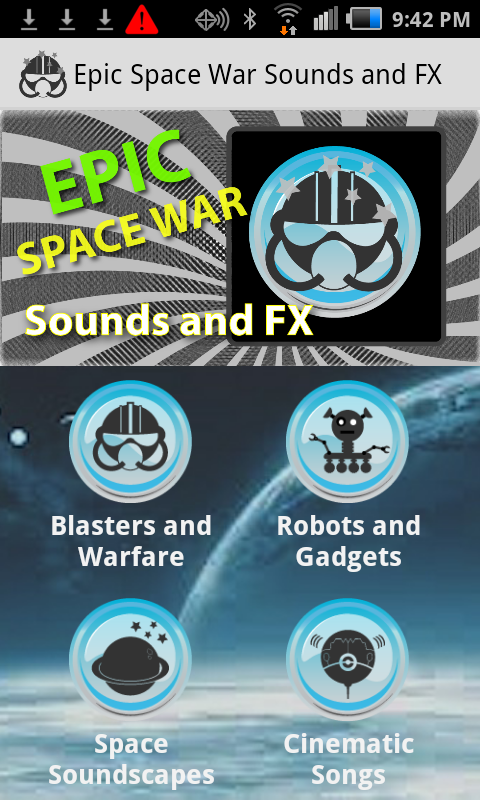 Epic Space War Sounds and FX- screenshot