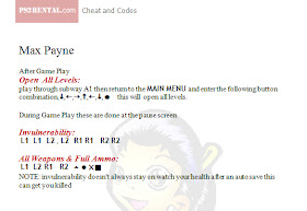 Playstation 2 Cheat Code Center Max Payne