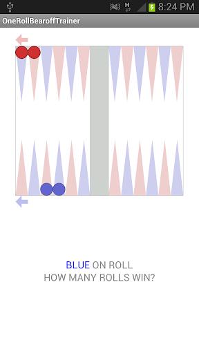 Last Roll for Backgammon