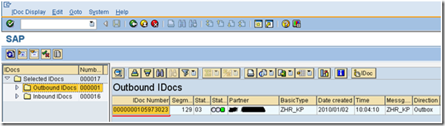 Kent Weare's Integration Blog: Reprocessing SAP IDocs through