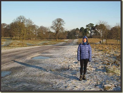 Sue in Tatton Park