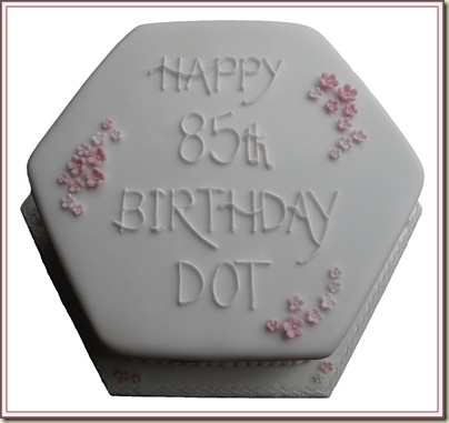 Dot's Birthday Cake