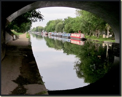 Back by the Bridgewater Canal