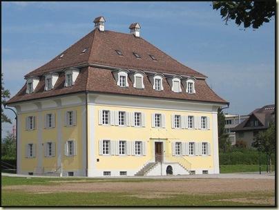 Posh house in Zug