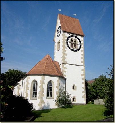 The noisy church at Knonau