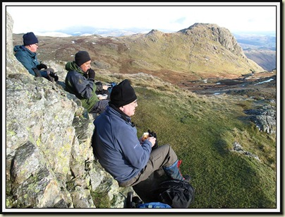 Lunch on Pike O' Stickle