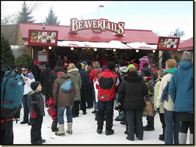 Winterlude's favourite snack - 'Beaver Tails'