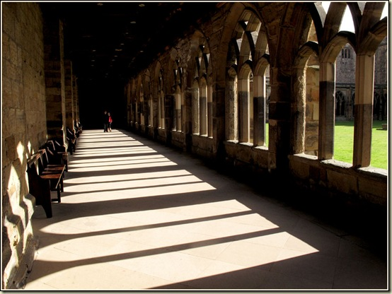 Cloisters at Durham Cathedral