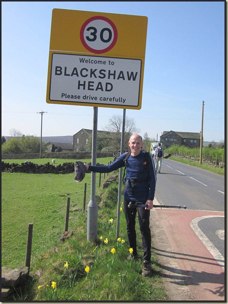 Steve Blackshaw at Blackshaw Head
