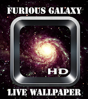 Screenshot of Furious Galaxy Wallpaper