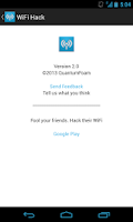 Screenshot of WiFi Hack (Prank)