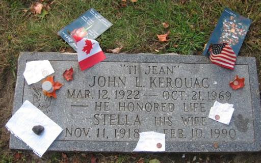 Jack Kerouac's grave