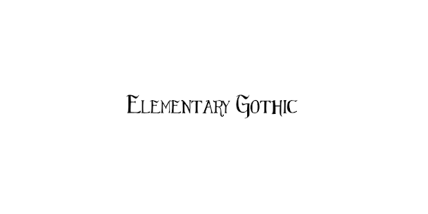 ★ Gothic Font - Rooted ★- screenshot thumbnail