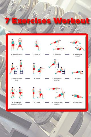 7 Exercises Workout