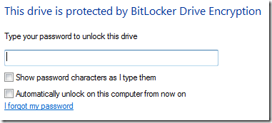 Using Windows 7 BitLocker To Go, Secures USB Flash Disk