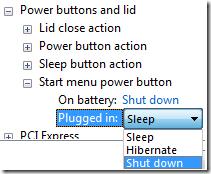 Keyboard Shortcut for Shutdown Button in Windows 7 - Unlock