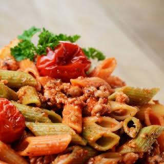 Copycat Macaroni Grill Penne Rustica.