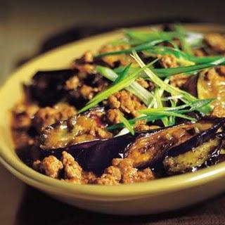 Sichuan-Style Braised Eggplant.