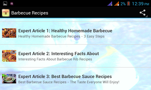 免費生活App|Barbecue Recipes|阿達玩APP