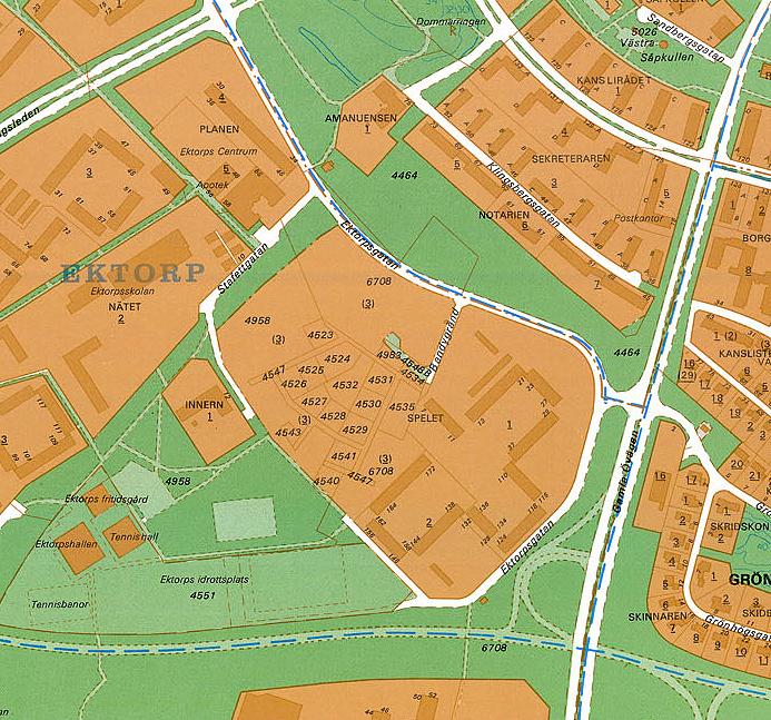ektorp karta Norrköping under ett sekel. :: Läser ämne   Högalund. ektorp karta