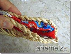 artemelza - carteira de chita