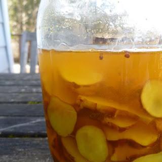Sunchoke (Jerusalem artichoke) pickles