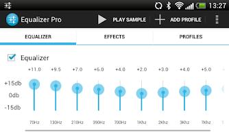 Screenshot of Equalizer Pro (Free)