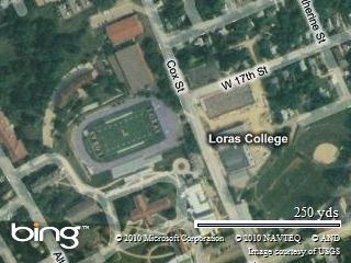 Loras Campus Map.Colts Virtual Cooktruck Colt 2010 Day 1 Dubuque June 1