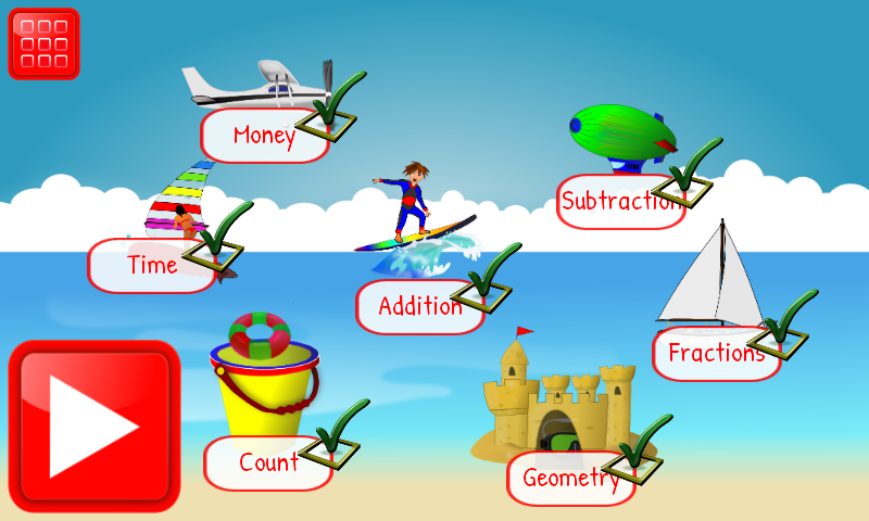 2nd Grade Math Learning Games Android Apps On Google Play