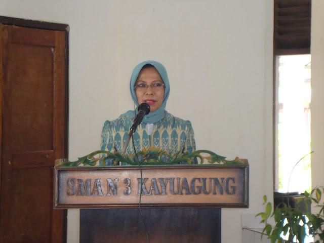 Pelaksanaa Magang PIK-KRR di SMAN 3 Unggulan Kayuagung oleh BKKBN Provinsi SUMSEL 2011