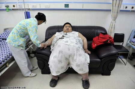 the most fat Chinaman world