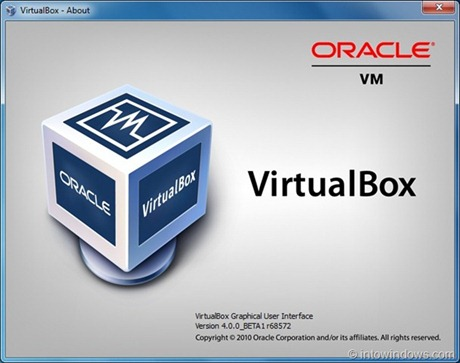 Oracle Virtual Box 4.0 Beta