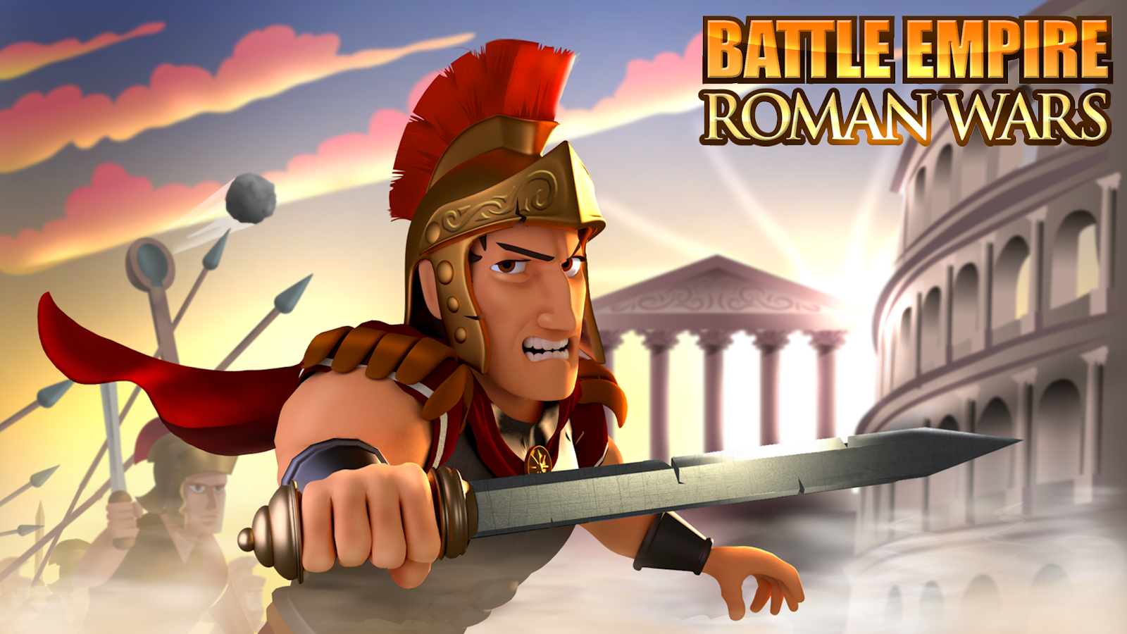 Battle Empire: Rome War Game- screenshot
